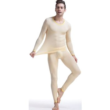 New Aibc men's underwear home set viscose long johns tight sexy underwear fashion high-elastic long johns