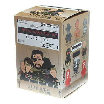 "TITANS Metal Gear Solid V Collection 3"" Vinyl Mini Figure Blind Box"