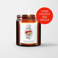 EverydayFolkCo.™ FOREVER Tattoo Coconut Wax Candle. Inked inspired Various scents.
