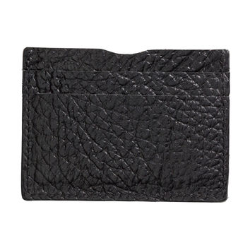 H&M - Leather Credit Card Case - Black - Men