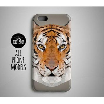 Geometric Tiger Art iPhone 8 Case iPhone 6S Case iPhone SE Case iPhone 8 Plus Case iPhone 7 Case iPhone 7 Plus Case iPhone 6S Plus Case