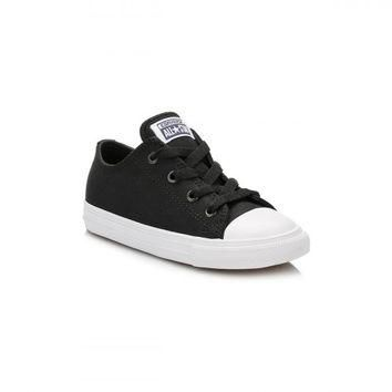 Converse All Star Chuck Taylor II Infant Black/White Ox Trainers