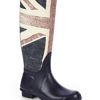 Hunter - Brit Canvas Rain Boots