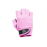 Lifting Gloves / Fingerless Gloves for Women with Smooth Leather Palms