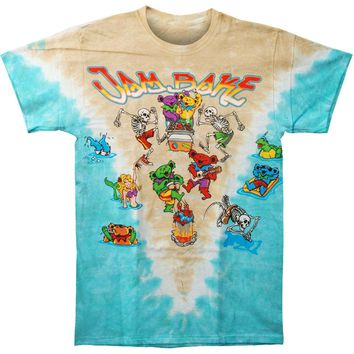 Grateful Dead Men's  Jam Bake Tie Dye T-shirt Multi