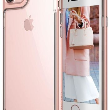 VONEXO9 Caseology Skyfall Series iPhone 7 / 8 Cover Case with Clear Slim Protective for Apple iPhone 7 (2016) / iPhone 8 (2017) - Rose Gold