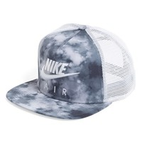 Women's Nike 'True Crystal' Trucker Hat - Grey