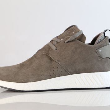 Adidas NMD Chukka C2 Suede Brown Black BY9913 7-13 cs2 boost nomad premium