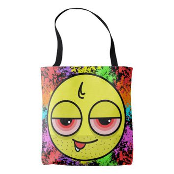 Hangover Face Tote Bag