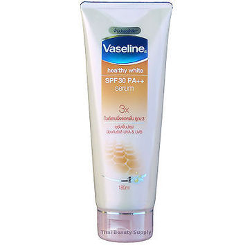 Vaseline Healthy White SPF30 Serum Skin Whitening Body Lotion