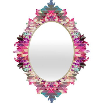 Bianca Green Ancient Star Baroque Mirror