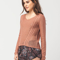 FULL TILT Multi Stitch Womens Sweater | Pullovers