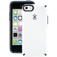 Speck Spk-A2242 Iphone(R) 5C Candyshell Case (White/Charcoal Gray)