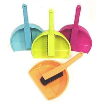 dustpan and with brush set Case of 48