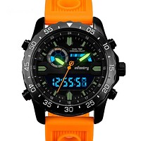 Men's Military Chronograph Digital Analog Watch