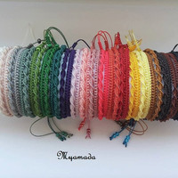 Very Simple micromacrame bracelet