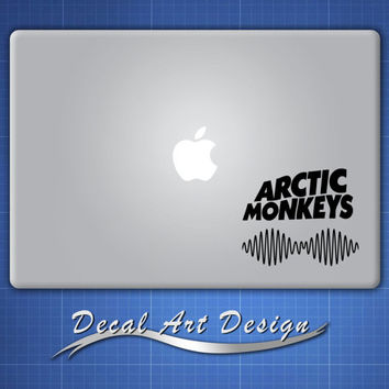 Arctic Monkeys -  Apple Macbook Laptop Vinyl Sticker Decal