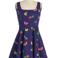 ModCloth Fruits Short Tank top (2 thick straps) Cutest of the Fruit Dress