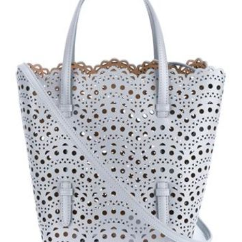AZZEDINE ALAÏA | Laser Cut Tote Bag | Womenswear | Browns Fashion