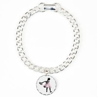 Hammer Girl Charm Bracelet, One Charm> Hammer Girl> Switched at Birth Official Merchandise