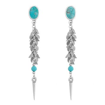 VAGABOND Long Statement Earrings