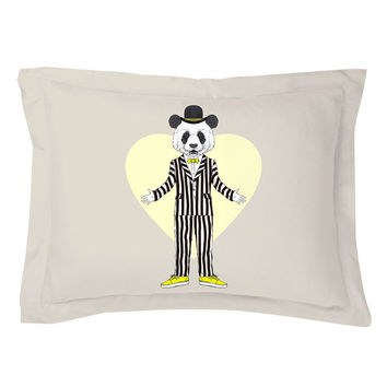 Original Panda Pillow Shams