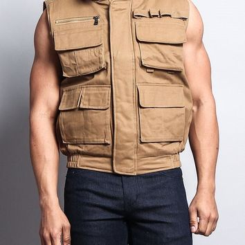 Men's Padded Outdoor Utility Vest