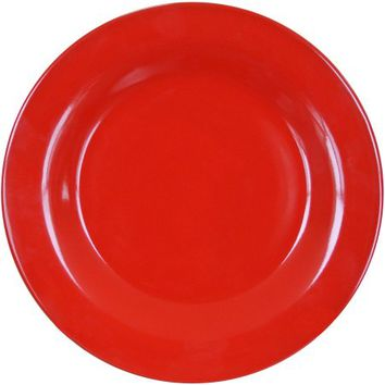Mainstays Bright Red 4-Pack Stoneware Dinner Plates - Walmart.com