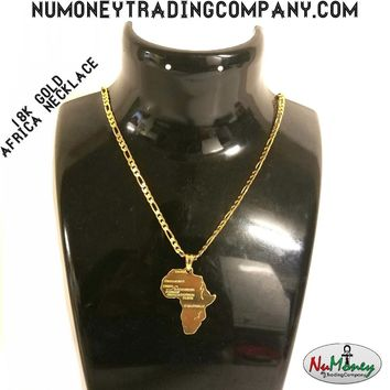 18K Africa Necklace