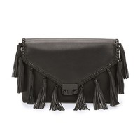 Loeffler Randall Lock Clutch With Tassels