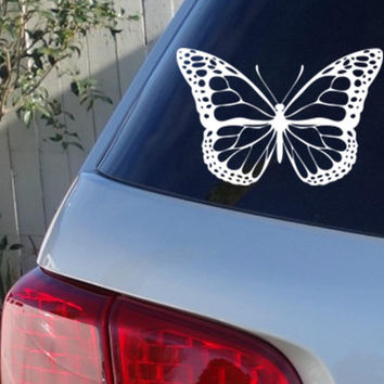 Butterfly Car Window Decal | Monarch Butterfly Car Decals
