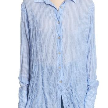 Elizabeth and James Francois Exaggerated Sleeve Shirt | Nordstrom
