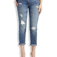 Lucky Brand Brooke Crop Womens Straight Jeans - Bowen