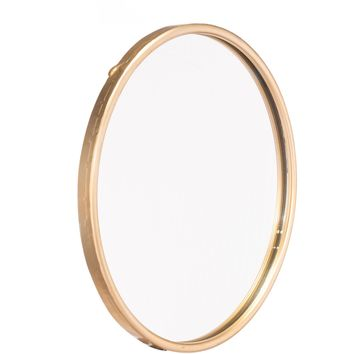 Gold Ogee Wall Mirror, Large
