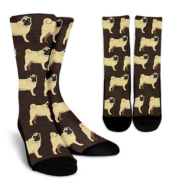 Pug Pattern Socks - Promo