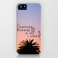 summer breeze iPhone Case by Island Art | Society6