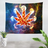 Galactic Weed Tapestry