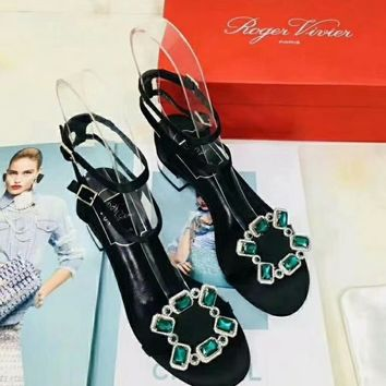 Roger vivier   Women Casual Shoes Boots  fashionable casual leather