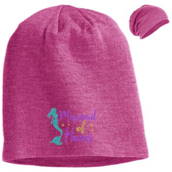 Mermaid Of Honor Slouch Beanie