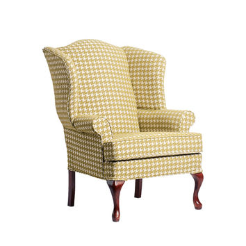 Comfort Pointe 7000-07 Leroux Lime Cherry Wing Back Chair