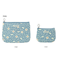 Livework Bonne promenade cotton daily zipper pouch