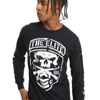 New Japan Pro-Wrestling The ELITE Shield Long-Sleeved T-Shirt