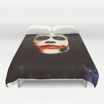 The Joker Duvet Cover by Hands In The Sky