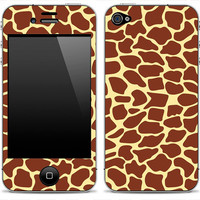 Animal print 12 iPhone 4/4s Skin FREE SHIPPING