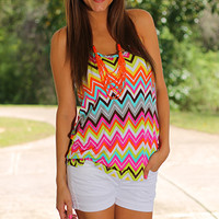 Braided Bliss Tank, Multi