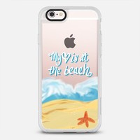 My Heart is at the Beach iPhone 6s case by Lisa Argyropoulos | Casetify