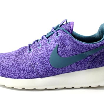 Nike Women's Roshe-Run Print Purple Running Shoes 599432 551