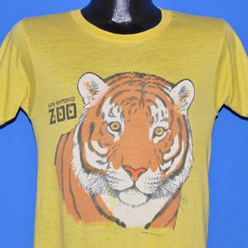 80s San Antonio Zoo Bengal Tiger t-shirt Small