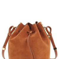 Sophie Hulme 'Small Nelson' Drawstring Crossbody Bag - Brown
