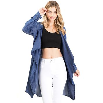 Dawn Chambray Jacket